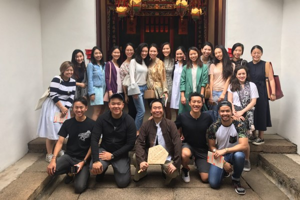 """""""<p>Young Friends experienced yet another busy few months this spring 2017, most recently attending the Affordable Art Fair and catching Hong Kong Art Centre&rsquo;s private screening of the acclaimed Hong Kong film <em>10 years</em>.</p> <p>&nbsp;</p> <p>The highlight of our spring calendar was definitely the <em>Hi House! </em>Heritage house art tour. We were delighted that Lam Tung Pang, Wilson Shieh, and the Leisure and Cultural Services Department (Education) partners offered us their time on a Saturday to take us around designated heritage houses across Hong Kong where the government has invited four Hong Kong artists to revitalise four centuries-old houses to use art as a tool to link the past with the present and revive collective memory. We visited four different corners of the territory: Law Uk Folk Museum; Chai Wan, Sam Tung Uk Museum in Tsuen Wan, Wong Uk Village old house in Sha Tin and Dr Sun Yat Sen Museum in Mid levels.</p> <p>As summer approaches, Young Friends are planning more friendly meet ups around Hong Kong.&nbsp;</p> <p>&nbsp;</p> <p style=""""text-align: left;"""">Vickie Li and Alexandra Choa</p> <p style=""""text-align: left;"""">Young Friends coordinators&nbsp;</p> <p style=""""text-align: left;"""">@YoungfriendsCUHK</p>"""""""