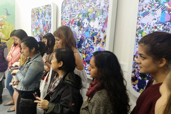 """""""<p>March was a most exciting month for the Young Friends. We were delighted with the offer of free VIP tickets to the Art Central Art Fair, where a private tour was set up for our members. Asia Week Hong Kong generously provided us with free tickets to Art Basel and included a private tour, led by art consultant, Jeannette Ten Kate. Both events were extremely popular amongst our Young Friends members. On behalf of Young Friends; I want to say a very big, &ldquo;Thank You&rdquo; to both organisations.</p> <p>With great thanks to Elizabeth Lackey, who runs the Young Art Professionals programme, we co-hosted a very successfull &lsquo;Meet and Greet&rsquo; event at Duddell&rsquo;s. We filled the Duddell&rsquo;s terrace and secured many new members for the Young Friends. As we received great feedback from this event, we hope to collaborate on many more activities with Young Art Professionals in the future.</p> <p>On the 13<sup>th</sup> of May the Friends co-hosted a Young Friends x Le French May exhibition at the Hong Kong Arts Centre. The exhibition featured renowned French illustrator, Nicolas Vial, and five young illustrators who displayed illustrations in response to Vial&rsquo;s most recent works on the theme of climate change. We enjoyed collaborating with Le French May this year and to have this exhibition at the Arts Centre was truly delightful. We hope that you attended and enjoyed the reception on the 13<sup>th</sup> to celebrate the opening of this exciting event. The exhibition continues until the 10th June. Young Friends wish to thank LuxSurety for generously sponsoring transportation for the artwork for our Climate Change exhibition at the Hong Kong Arts Centre.</p> <p>As part of an outreach programme for the Young Friends x Le French May exhibition, we held an Artist&rsquo;s talk and illustration workshop on the 20<sup>th</sup> of May.</p> <p>We look forward to announcing our autumn events schedule soon. &nbsp;Be sure to visit our &nbsp; &nbsp;<a href=""""ht"""