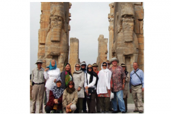 """Friends at Persepolis"""